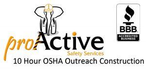 10 Hour OSHA Outreach Construction Training