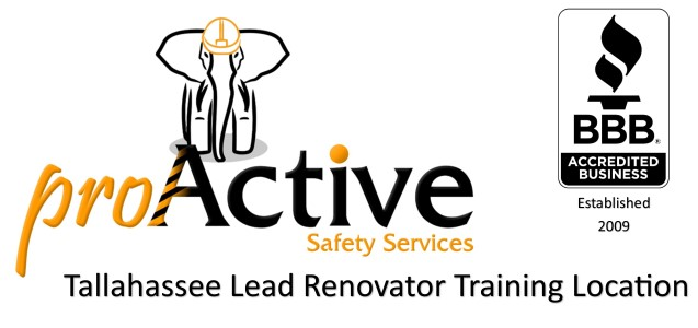 Tallahassee Lead Renovator Refresher Training Location