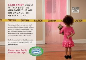 Banning of Lead Based Paint