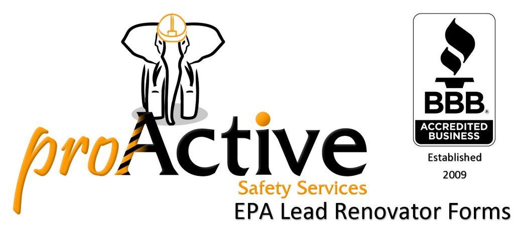 Lead Renovator Forms