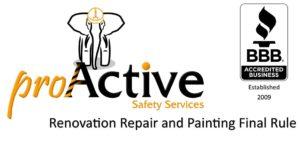 Renovation Repair and Painting Final Rule