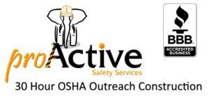30 Hour OSHA Outreach Construction Training