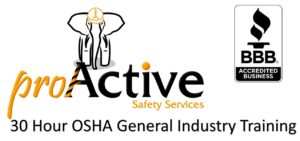 30 Hour OSHA Outreach General Industry Training